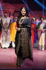 Anushka Shetty at An Ode To Weaves and Weavers Fashion show at HICC Novotel, Hyderabad on June 21, 2016 (99)_576bdf2c123ec.JPG