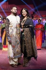 Anushka Shetty at An Ode To Weaves and Weavers Fashion show at HICC Novotel, Hyderabad on June 21, 2016 (114)_576bdea9ed522.JPG