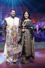 Anushka Shetty at An Ode To Weaves and Weavers Fashion show at HICC Novotel, Hyderabad on June 21, 2016