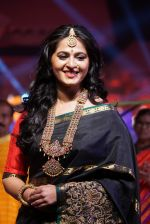 Anushka Shetty at An Ode To Weaves and Weavers Fashion show at HICC Novotel, Hyderabad on June 21, 2016 (96)_576bdf2a5ecaf.JPG
