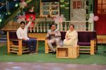 Govinda, Sunita Ahuja on the sets of The Kapil Sharma show on 22nd June 2016.