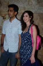 Gulshan Devaiya and his wife Kalliroi Tziafeta during the special screening of film Raman Raghav 2.0 in Mumbai, India on June 22, 2015 (1)_576b676ce5a53.JPG