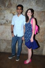Gulshan Devaiya and his wife Kalliroi Tziafeta during the special screening of film Raman Raghav 2.0 in Mumbai, India on June 22, 2015 (2)_576b677b26de6.JPG