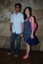 Gulshan Devaiya and his wife Kalliroi Tziafeta during the special screening of film Raman Raghav 2.0 in Mumbai, India on June 22, 2015 (3)_576b67658bc64.JPG