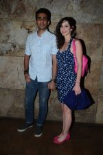 Gulshan Devaiya and his wife Kalliroi Tziafeta during the special screening of film Raman Raghav 2.0 in Mumbai, India on June 22, 2015 (4)_576b6766895a4.JPG