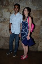 Gulshan Devaiya and his wife Kalliroi Tziafeta during the special screening of film Raman Raghav 2.0 in Mumbai, India on June 22, 2015 (5)_576b676884644.JPG
