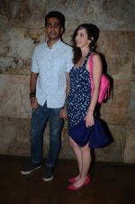 Gulshan Devaiya and his wife Kalliroi Tziafeta during the special screening of film Raman Raghav 2.0 in Mumbai, India on June 22, 2015 (6)_576b676a2cf39.JPG