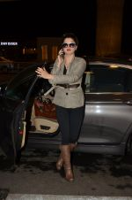 Kainaat Arora snapped at airport in Mumbai on 22nd June 2016