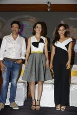 Kangana Ranaut, Neha Sharma, Manoj Bajpai at Kriti film premiere on 22nd June 2016