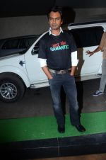 Nawazuddin Siddiqui during the special screening of film Raman Raghav 2.0 in Mumbai, India on June 22, 2015