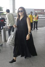 Neha Dhupia snapped at airport in Mumbai on 22nd June 2016