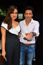 Neha Sharma, Manoj Bajpai at Kriti film premiere on 22nd June 2016