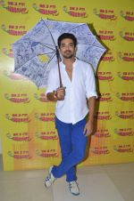 Saqib Saleem at Radio Mirchi Studio for their new single Tum Ho Toh Lagta Hai on June 23, 2016