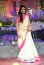 Smita Vallurupalli at An Ode To Weaves and Weavers Fashion show at HICC Novotel, Hyderabad on June 21, 2016 (7)_576be022af7c7.JPG