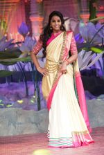 Smita Vallurupalli at An Ode To Weaves and Weavers Fashion show at HICC Novotel, Hyderabad on June 21, 2016 (4)_576be0190af73.JPG