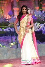 Smita Vallurupalli at An Ode To Weaves and Weavers Fashion show at HICC Novotel, Hyderabad on June 21, 2016