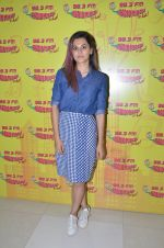 Taapsee Pannu at Radio Mirchi Studio for their new single Tum Ho Toh Lagta Hai on June 23, 2016