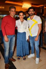 Varun Badola, Rajeshwari Sachdev, Hussain Kuwajerwala at Love Ke Funday film launch in Mumbai on 22nd June 2016