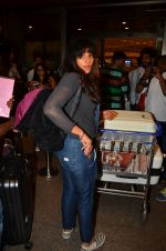 snapped at airport in Mumbai on 22nd June 2016