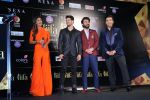 (L-R)Shilpa Shetty, Sooraj Pancholi, Fawad Khan and Karan Johar at the IIFA 2016 Opening Press Conference in Madrid (11)_576cdf85417fe.JPG