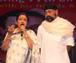 Asha Bhosle and Uttam Singh at Love You Pancham concert in celebration of Pancham da