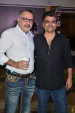 Bollywood filmmakers Ajay Chabbria, Rajeev Jhaveri during the music launch of the film Fever in Mumbai, India on June 24, 2016