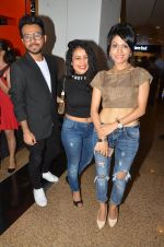 Bollywood singers Neha Kakkar, Tony Kakkar and Sonu Kakkar during the music launch of the film Fever in Mumbai, India on June 24, 2016