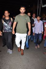 John Abraham snapped at airport on 24th June 2016