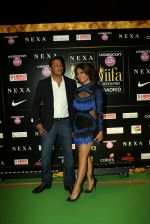 Lara Dutta and Mahesh Bhupathi at Videocon d2h IIFA Rocks 2016 in Madrid