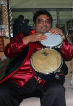 Nitin Shanker at Love You Pancham concert in celebration of Pancham da