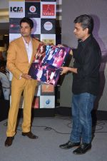 Rajeev Khandelwal and Rajeev Jhaveri during the music launch of the film Fever in Mumbai, India on June 24, 2016