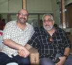 Raju Singh and Kersi Lord at Love You Pancham concert in celebration of Pancham da
