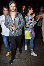 Varun Dhawan, Jacqueline Fernandez snapped at airport on 24th June 2016