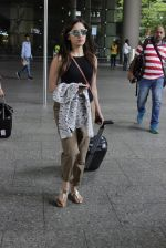 Yami Gautam at the airport on June 24, 2016