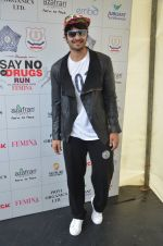 Ali Fazal at say no to drugs marathon on 25th June 2016(67)_576fb220ef9d2.JPG