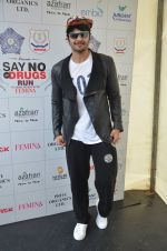 Ali Fazal at say no to drugs marathon on 25th June 2016(68)_576fb221b9a15.JPG
