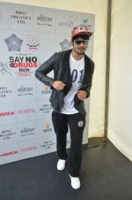 Ali Fazal at say no to drugs marathon on 25th June 2016(73)_576fb224b31a4.JPG