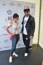 _Mandira Bedi and Ali Fazal at say no to drugs marathon on 25th June 2016