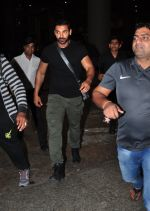 John Abraham snapped at the airport on June 26, 2016