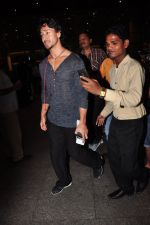 Tiger Shroff snapped at the airport on June 26, 2016