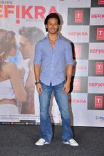 Tiger Shroff at Befikra song launch in Mumbai on 28th June 2016