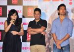 Tiger Shroff, Bhushan Kumar, Aditi Singh Sharma at Befikra song launch in Mumbai on 28th June 2016