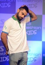 Virat Kohli encourages kids towards a healthy lifestyle, launches Stepathlon Kids in Delhi on 27th June 2016 (10)_577286ddf3f45.JPG