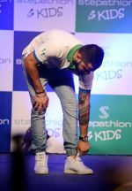 Virat Kohli encourages kids towards a healthy lifestyle, launches Stepathlon Kids in Delhi on 27th June 2016