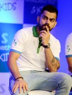 Virat Kohli encourages kids towards a healthy lifestyle, launches Stepathlon Kids in Delhi on 27th June 2016 (4)_57728723ef501.JPG