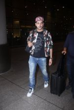 Zayed Khan return from IIFA in Mumbai Airport on 27th June 2016