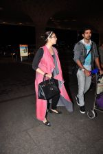 Huma Qureshi, Saqib Saleem snapped at airport on 29th June 2016