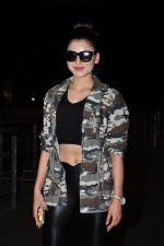 Urvashi Rautela snapped at airport on 29th June 2016