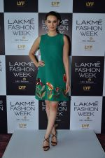 Evelyn Sharma at LFW Model Auditions in St. Regis Hotel on 30th June 2016