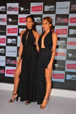 Lisa Haydon, Anusha Dandekar at the Launch of MTV_s India_s Next Top Model Hunt Season 2 in The Leela Hotel on 30th June 2016 (2)_577617fdd6c39.JPG